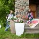 Напольное кашпо для цветов в Омске